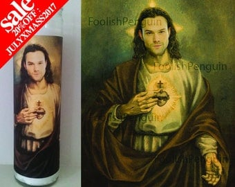 Sam Winchester Devotional Candle