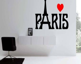 EVERYTHING IS 20% OFF Paris Wall Decal