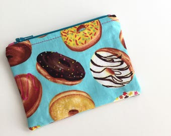 Donuts Coin Purse, Credit Card Pouch, Coin Pouch