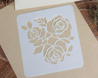 Drawing stencil - DIY Template - Filofax - Spray paint stencil