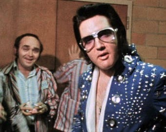Elvis Presley , # 4 Photos of Elvis Backstage before his show in Greensboro, NC on April 14, 1972