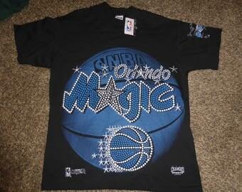 Vtg NWT Orlando Magic NBA Changes 1993 Jersey Shirt Sz Men's L