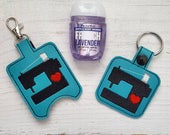 Sewing Machine Keychain o...