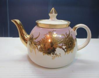 Vintage Ceramic Teapot, Gibsons (?) Staffordshire England Teapot