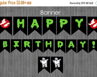 ON SALE Ghostbuster Banner