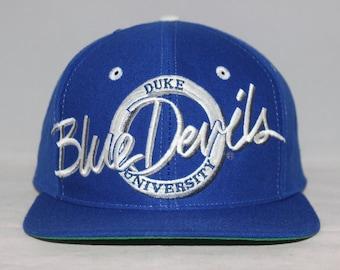 Vintage Duke Blue Devils NCAA Snapback Hat
