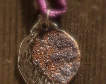 Enameled Lunar Necklace