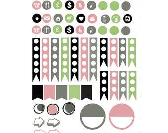 September Garden Planner Stickers 002