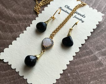 Onyx and Brass