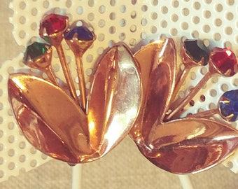 Vintage Birthstone Earrings