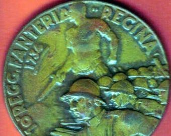 Italian 10th Infantry Regt. Medal  Medaglia Bronzo 10 Regg Fanteria Regina
