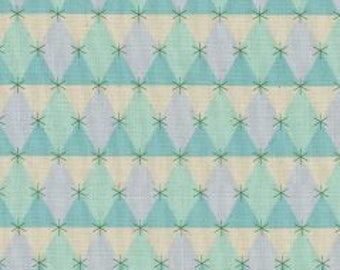 1/2 yard FLUTTER by Melody Miller for Cotton and Steel Prism Aqua