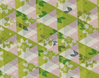 1/2 yard FLUTTER by Melody Miller for Cotton and Steel Kaleidoscope Citron