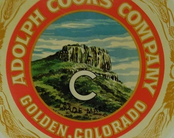 Coors beer tray