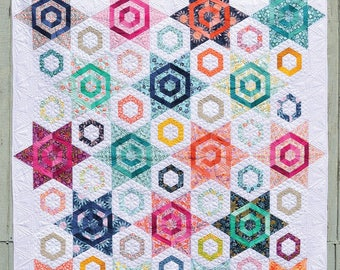 NEW! Aurora Quilt Pattern by Color Girl Quilts Free Shipping in the US