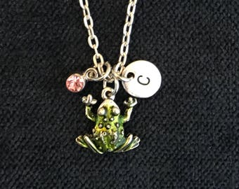 Frog Necklace Frog Jewelry