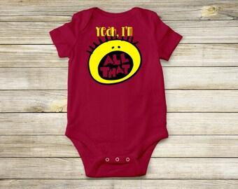 All That 90s Nickelodeon - Baby Bodysuit, Baby T-Shirt, Toddler T-Shirt