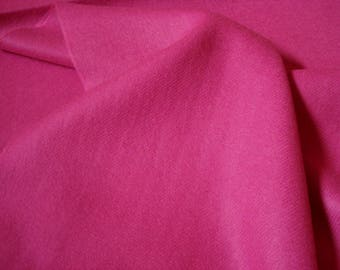 "New Solid PERFECT HOT PINK Scottish Cashmere Scarf Rich Color Made in England 72x12"" Womens Girl's"