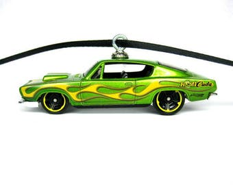 1968 Plymouth Hemi Cuda Mopar Muscle Car Hot Wheels Ornament