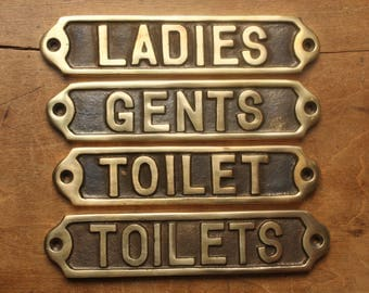 Bathroom Signs Ireland bathroom signs | etsy