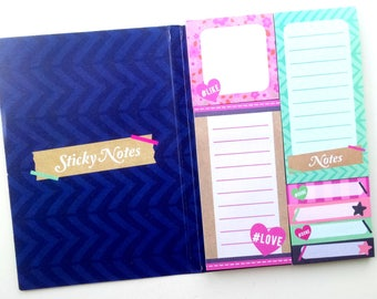 Sticky notes / repositionable Sticky Notes in your book