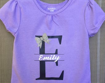 Personalized Girls Name shirt
