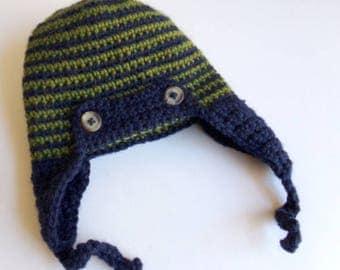 Aviator Hat (0-3 months)