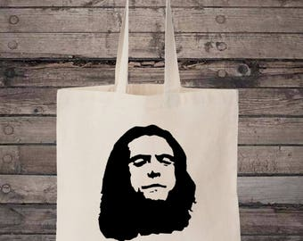 Oh Hi Mark Cotton Shopping Tote Bag