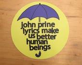 JOHN PRINE STICKER / john...
