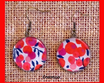 Earrings liberty wiltshire 25 mm
