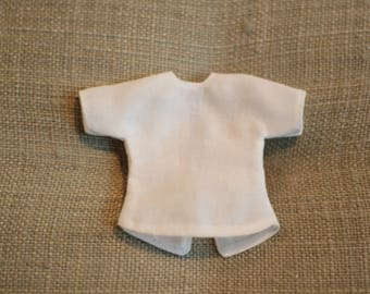 Bloomsbury Crew Short Sleeve Top ~ Vintage Voile - A BirdyBoo Design from the Bloomsbury Collection for Blythe
