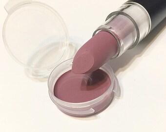 Organic DEW DROP Natural MATTE Lipstick - Mineral Lip Butter - Gluten Free Vegan Lipstick