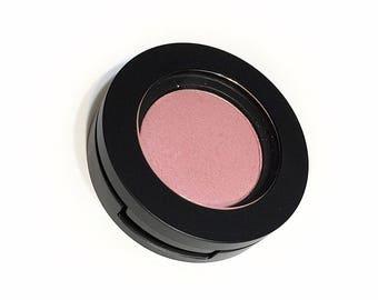 PINK SLIP Pressed Mineral Eyeshadow - Pink Eye Color Natural Eye Shadow - Plant Makeup - Organic Gluten Free Vegan Mineral Makeup