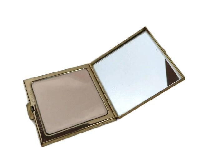 Vintage Vivian Woodard Compact, 1960 Makeup Case, Mirrored Powder Compact