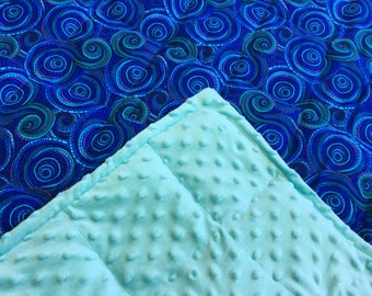 Mosaic weighted blanket 35X40 & 40X60 sensory anxiety autism adhd restless sleep