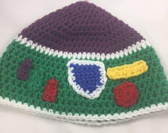 Toy Story Buzz Lightyear Crochet Beanie Hat