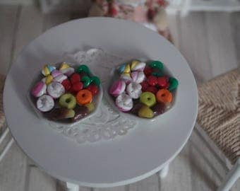 Table Cupcakes miniature 1:12