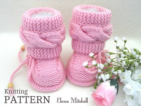Knitting Pattern Baby Booties Baby Shoes Pattern Baby Booty Knitted
