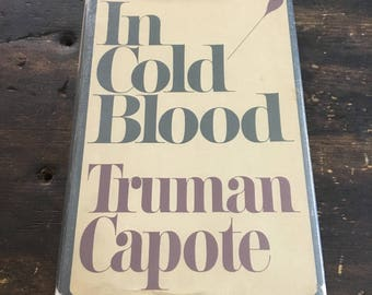 In Cold Blood by Truman Capote / First Edition, 5th Printing / 1965 Hardcover