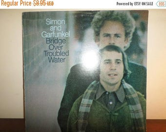 Save 30% Today Vintage 1970 LP Record Simon and Garfunkel Bridge Over Troubled Water Very Good Condition 11375