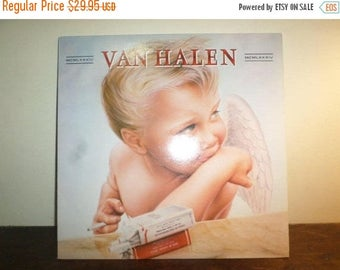 Save 30% Today Vintage LP Record Van Halen 1984 Near Mint Condition Warner Brothers Records 9450