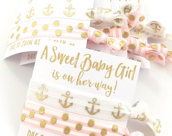 Nautical Baby Shower Favors | Anchor Shower Favors | It's A Girl | Nautical Theme | Custom Baby Shower Favors |  | Baby Girl Favors | Anchor