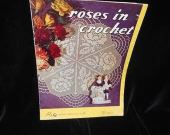 Crochet booklet Roses in Crochet Lily design book 71