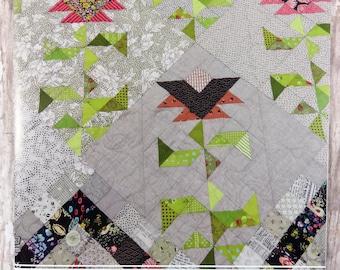 Paradise in Bloom Quilt Pattern - Lucy Carson Kingwell - Jen Kingwell Designs - JKD 5767