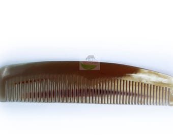 Sale until 17th September  - Two Pieces of C002 Hair Comb Handmade From Cattle Horn