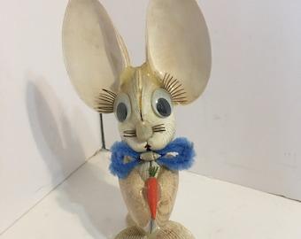 Vintage Souvenir From Florida Rabbit Bunny Made Of Shells