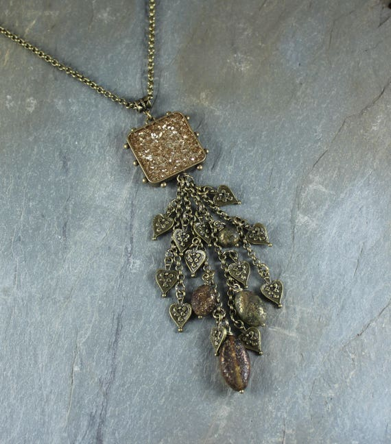 Bohemian Chic ~ Forest Fairy ~ Sparkle pendant necklace
