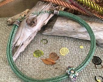 Viking Knit Necklace