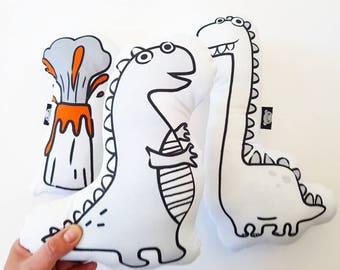 Dinosaur toy, stuffed dinosaur, dinosaur plush, dinosaur baby shower, baby dinosaur, boy baby shower, dinosaur nursery, dinosaurs