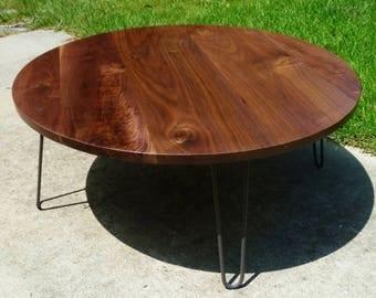 "Virginia's  custom ""Sencillo"" Tall Bistro Table w/ hairpins"